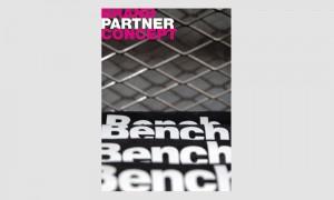 Werbung: Bench Partnerbroschüre Titel