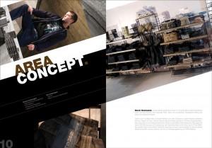 Werbung: Bench Partnerbroschüre Areaconcept