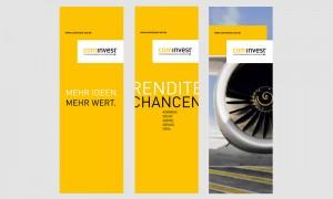 Grafik Design: Cominvest Banner