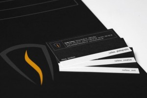 Corporate Design: Studio Saibou Stationery Detail