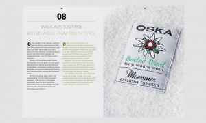 Marketing Kommunikation: OSKA Wollbuch Walk