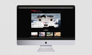Responsive Webdesign: Design T.I.E.M. Website Homescreen