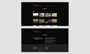 Responsive Webdesign: Design T.I.E.M. Screens Portfolio & Agentur