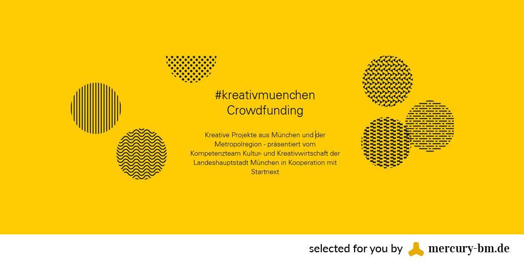 Kreativ-Crowdfunding-Plattform für die Metropolregion