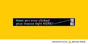 News Erste Internet-Werbung