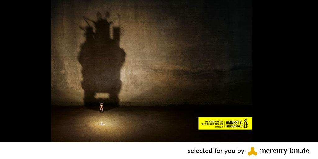 Best Ads für Amnesty