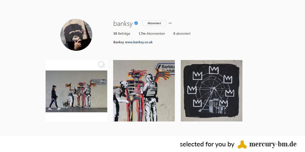 Banksy in Sicht