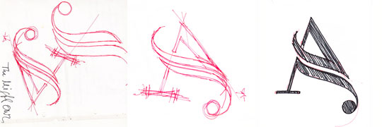 Prämiertes Design: Typografische Logo-Kreation