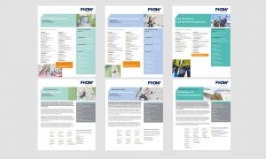 Redesign: FHDW Factsheets