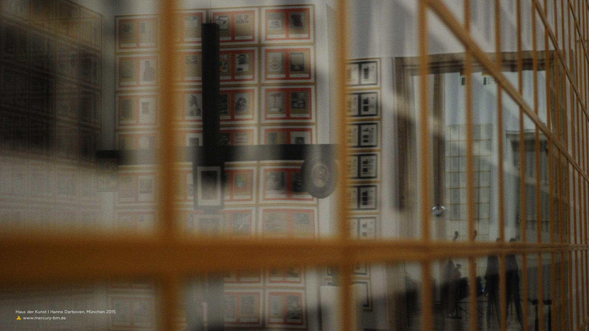 Ausstellung Hanne Darboven, Haus der Kunst München