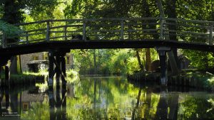 Canal Bridge in Lehde, Spreewald 16:9