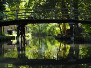 Canal Bridge in Lehde, Spreewald 4:3