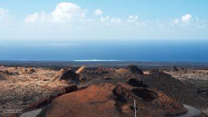 Volcanoes of Timanfaya in Lanzarote 16:9