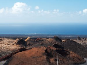 Volcanoes of Timanfaya in Lanzarote 4:3