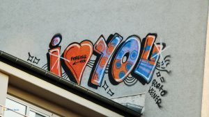 I love you Graffiti 16:9