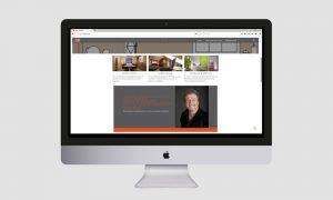 Responsive Webdesign: Raum und Form Homepage