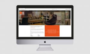 Responsive Webdesign: Raum und Form Showroom
