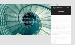 Responsive Webdesign: Hans Kepper GmbH