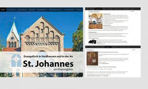 Responsive Webdesign: St. Johannes