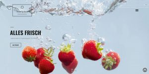 Responsive Webdesign: Saibou Photography Screen Titel Rewe